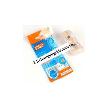 28-310171, Bandage elastisch, 7,5x115 cm , 2 Befestigungsklammern