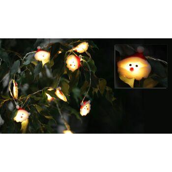 17-30542, LED Lichterkette Weihnachtsmann, Nikolaus