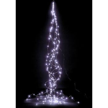 17-42330, LED Hänger Kupferdraht mit 180 LEDs, LED Licht weiss