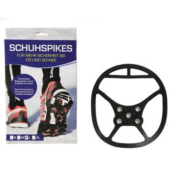 17-41422, Schuh-Spikes, Schuhspikes, für mehr Sicherheit bei Eis und Schnee