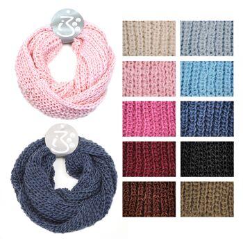 17-80022, Loop Schal, als Schal und Loop