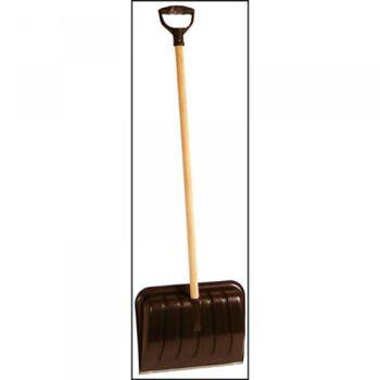 28-261103, Schneeschaufel 40 x 31 cm, mit Holzstiel 110 cm, Schneeschieber
