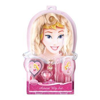 27-47424, RUBIE'S Disney Princess DornröschenVerkleidungs Set, viel Zubehör, Perücke, Spiegel, Bürste, Kamm, Kette, Ring, Lipgloss++++++