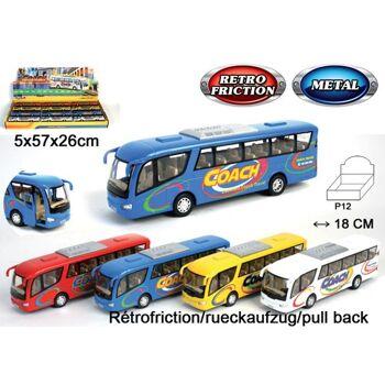 27-47406, Metall Bus Fahrzeug mit Antrieb