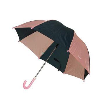 27-46094, Playshoes Regenschirm BASIC marine-rosa