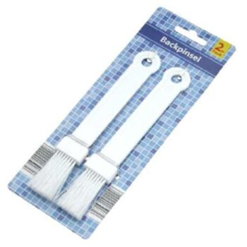 12-1102590, Kuchenpinsel, 2er Pack, Backpinsel