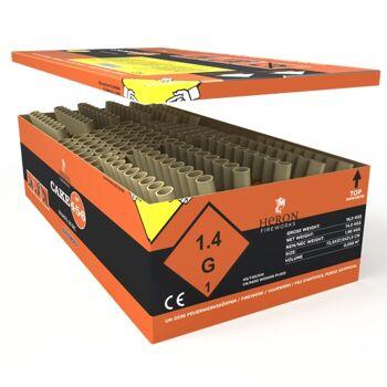 Heron Cake 456, 178-Schuss Verbund Feuerwerk Batteriefeuerwerk