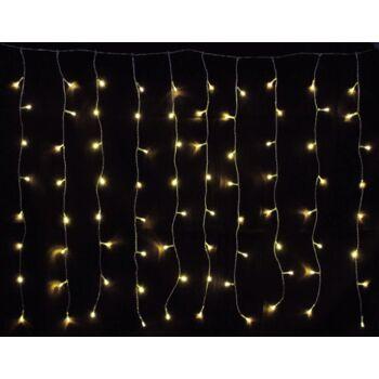 160 er LED Lichterkette Lichtervorhang innen/außen warmweiss