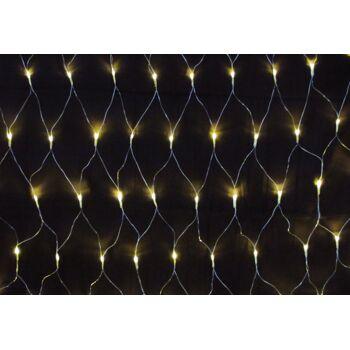 160 er LED Lichternetz Lichterkette innen/außen warmweiss