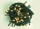 500er LED Lichterkette Weihnachten innen/außen warmweiss Kabel grün
