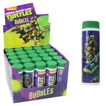 27-80023, Pustefix Turtels Seifenblasen, Mutant Teenage Ninja Turtels, Lizenzware
