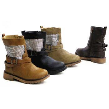 Kinder Boots Stiefel Schuhe Shoes Winter Mädchen Gr.25-36 nur 11,90 Euro