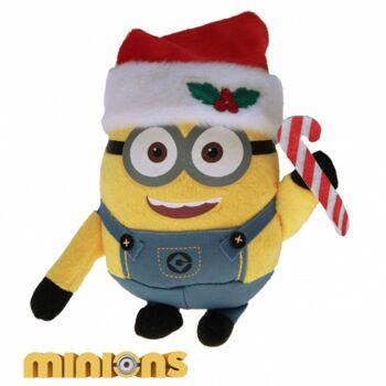 10-202012, XXL Plüsch Minions Weihnachten 65 cm, Lizenzware