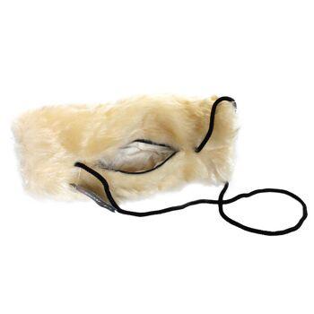 Muff aus Schurwolle mit Kordelband