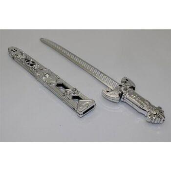 Dolch in Scheide 32 cm, PArty, Schwert, Säbel, Kriegerschwert, Karneval, Fasching, Event, usw