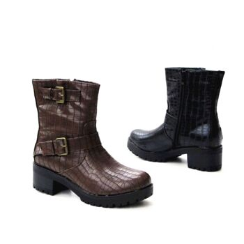 Damen Women Stiefel Boots Schuhe Shoes Stiefeletten nur 13,90 EUR