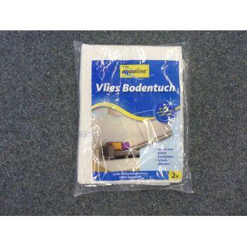 12-54130040, Vliesbodentuch 2er Pack, dick, Reinigungstuch, Bodenwischtuch, Bodenwischer