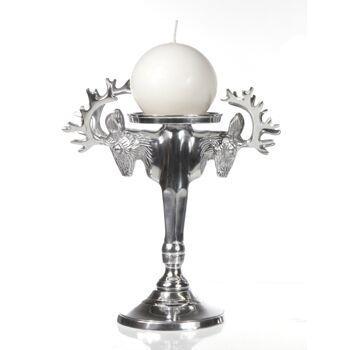 17-60250, Metall Kerzenständer