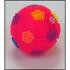 28-262352, LED Leuchtball 6,5 cm, mit Licht und Sound, Wurfball, Spielball