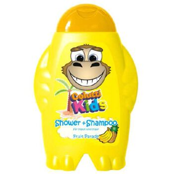 12-384660, Kiddy Care Shampoo&Shower 300ml Fruitparade, Kindershampoo für Haut und Haar