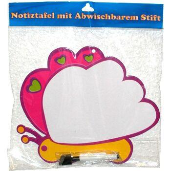 12-998567, Notiztafel Tiermotive abwaschbar, mit Stift, Maltafel+++++++