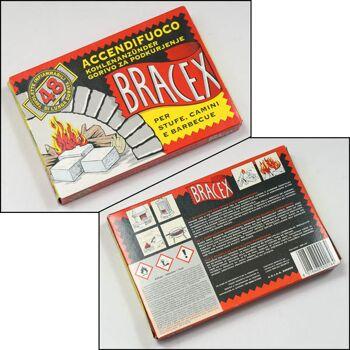 28-000164, Kohlenanzünder 48er Pack, Kaminanzünder, Grillanzünder