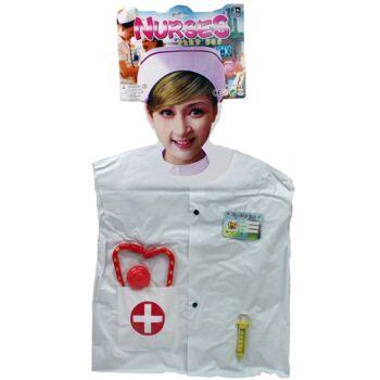 27-55213, Kostüm Krankenschwester 4-teilig, Kostüm, Party, Event, Karneval, Fasching