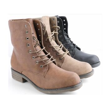 Damen Women Stiefel Boots Schuhe Shoes Stiefeletten nur 14,90 EUR