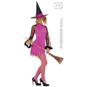 28-46843, Hexenbesen 107 cm, Kostüm, Karneval, Party, Fasching, Event