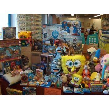 500-600 Teile Lego, Playmobil, Spielware, Geschenkartikel, usw., NEUWAREN