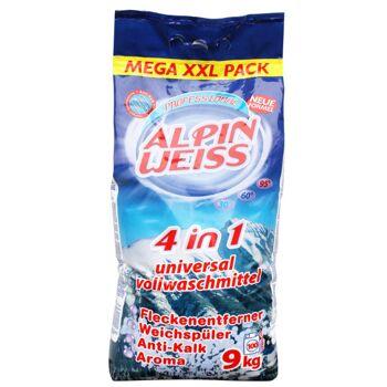 Waschmittel, Waschpulver, Washing Powder, Vollwaschmittel ALPINWEISS 9 kg , 5,39 €