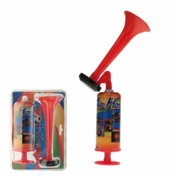 10-605000, XXL Druckluft Horn, 44 cm, ohne Gas, SEHR LAUT, Partytröte, Event, Stadion, Signalhorn / Druckluftfanfare