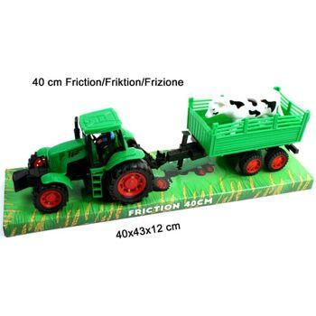 27-47429, Farmer Traktor mit Anhänger 40 cm, mit Antrieb