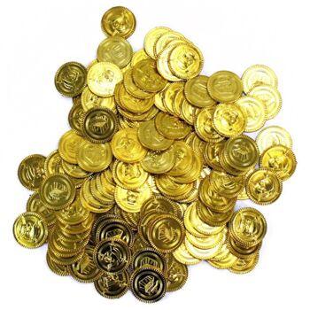 27-40083, GoldMünzen, Piraten Münzen, Piratenschatz, usw