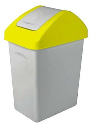 12-15001128, Mülleimer 10 liter, Schwingdeckeleimer, Mülltonne
