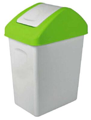 12-15001129, Mülleimer 25 liter, Schwingdeckeleimer, Mülltonne