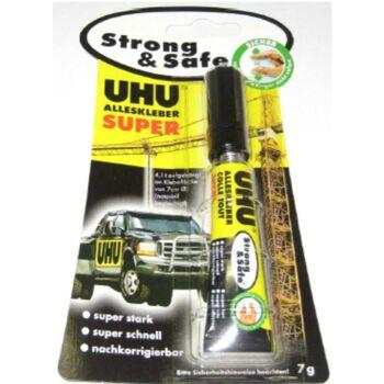 12-46960, UHU Alleskleber, Super 7g Strong&Safe