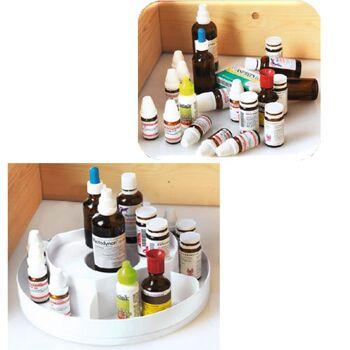 Medizinkarussell Medizinrondell für Medizinschrank Medikamentenaufbewahrung