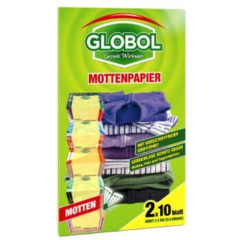 12-81855068, Globol Mottenpapier 2x10 Blatt
