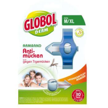 12-81855187, Anti-Mücken Armband + Nachfüller für Erwachsene, Wirkt gegen Mücken und Tigermücken