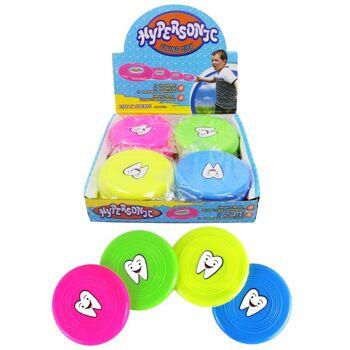 27-80063, Frisbee mit Zahnmotiv, Wurfscheibe