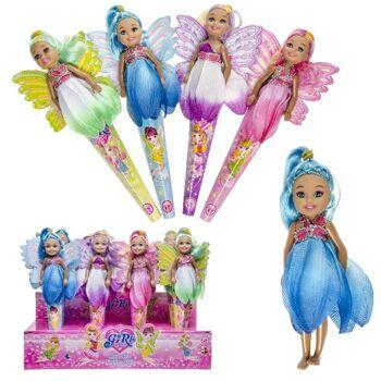 27-83056, Modepuppe, Puppe Flower Girl, mit Blumenkleid