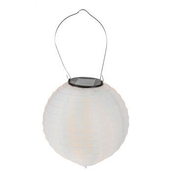 17-70979, LED Solar Lampion 40 cm, OUTDOOR, Partylicht, Hängelicht, Hängelampe