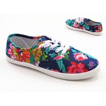 Damen Sneaker Schnür Schuhe Schuh Shoes Sportschuhe Freizeit Schuh nur 8,90 Euro
