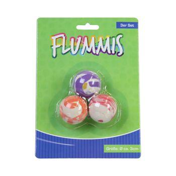 17-91028, Flummis, 3er Set , Springball