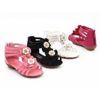 Kinder Mädchen Sandalen Sandaletten Mix Slipper Sommer Schuh nur 7,90 Euro