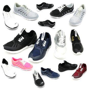 Freizeit Sport Sneaker Schuhe Mix Gr. 36-45 ab je 8,75 EUR