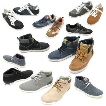 Herren Freizeit Sport Sneaker Schuhe Mix Gr. 40-45 je 8,95 EUR