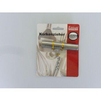 12-90048, Korkenzieher aus Edelstahl, Flaschenöffner