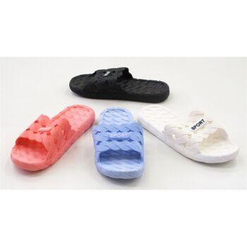 Damen Badeschlappen Women Slipper Badelatschen Flippers nur 3,90 Euro